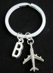 Airplane Keychain Long Distance Friendship Aviation Keychain Long Di