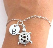 Turtle Bracelet Sea Turtle Jewelry Turtle Charm Bracelet Animal