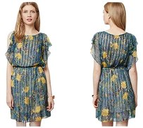Anthropologie short dress Pleated Daylily From Plenty By Tracy P on Tradesy