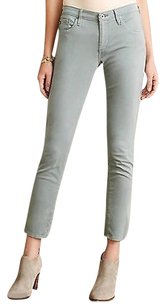 Anthropologie Ag Stevie Ankle Sateen Sky Skinny Jeans