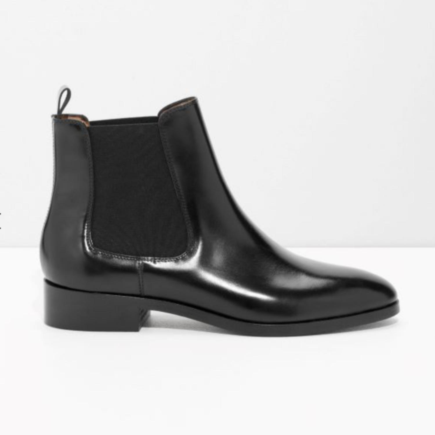 & OTHER STORIES Chelsea Leather Boots j7pV2J7