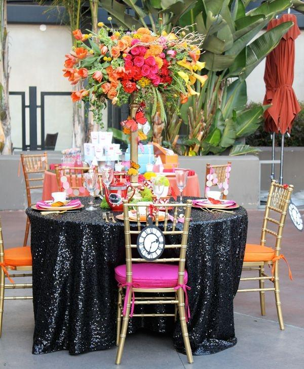 120u0027 Round Black Sequin Tablecloth Bling Glam Sparkle Wedding Clearance ...