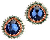 14th & Union Fashion Crystal Droplet Stud Earrings