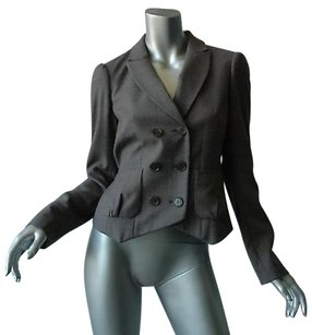 3.1 Phillip Lim 3.1 Phillip Lim Grey Slim Puff Blazer Jacket Coat