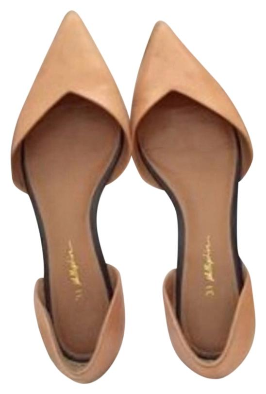 3.1 Phillip Lim Leather D'Orsay Flats clearance looking for xJHT8