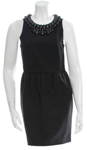 3.1 Phillip Lim Mesh Embellished Night Out Date Night Beaded Dress