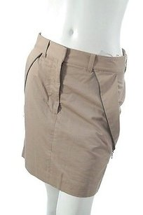 3.1 Phillip Lim Tan Khaki Cotton Skirt Brown