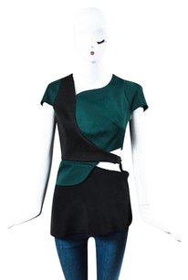 3.1 Phillip Lim Green Top Black