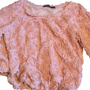 3D Rose Blouse in Blush pink Top