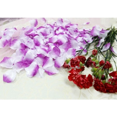 purple wedding decorations for sale 5000x lavender and white purple silk petals wedding 6913
