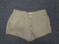 7 For All Mankind Khaki Shorts Beige