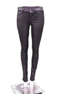 7 For All Mankind Skinny Iridescent High Sheen 160680a Tag Skinny Jeans