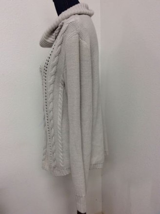 89th Madison 89th Madison Sweater Womens Off White Cowl Neck Knit