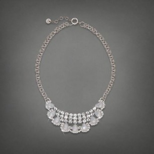 Abercrombie & Fitch Abercrombie Fitch Shine Opal Teardrop Crystal Necklace