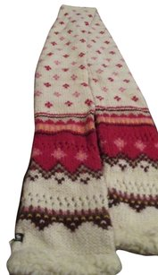 Abercrombie & Fitch Gorgeous Abercrombie & Fitch Pink, Red, & White Winter Warm Scarf!!!!