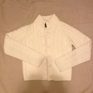 Abercrombie & Fitch Wool Cardigan Knit Preppy Sweater