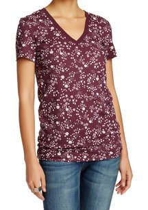 Cotton Blends Graphic Tee Top