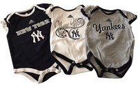 adidas adidas New York Yankees onesies