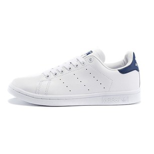adidas Sneaker Platform Leather White and Navy Athletic