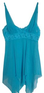 Adore Me New Adore Me Light Blue Lace Babydoll