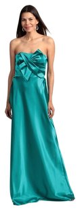Adrianna Papell Bridesmaid Wedding Gown Bow Dress