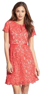 Adrianna Papell Pappell Scalloped Dress