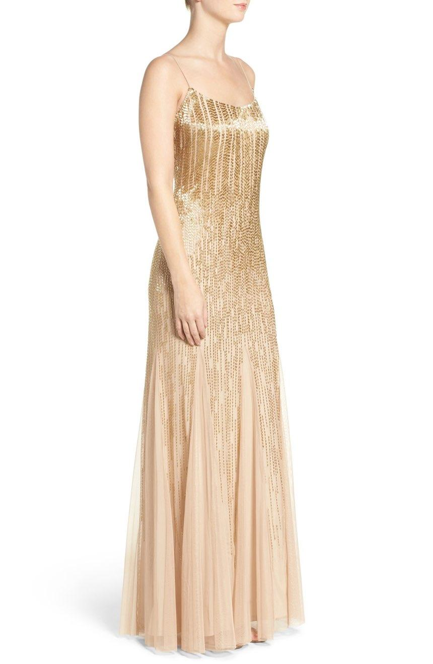 Champagne Ombre Dress