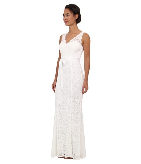 adrianna papell wedding dress papell v neck lace gown wedding dress wedding 1210