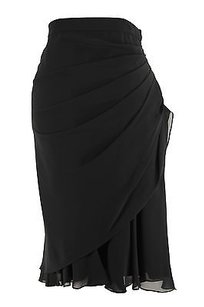 After Six Polyester Womens Regular Skirt Black
