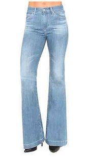 AG Adriano Goldschmied Blue Flare Leg Jeans