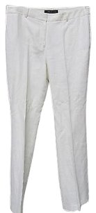 AK Anne Klein Linen Relaxed Relaxed Pants Ivory