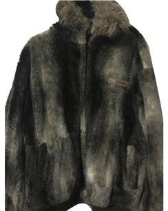 AKADEMIKS REVESIBLE FUR COAT, SIZE 2x Fur Coat