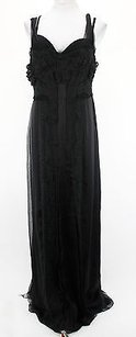 black Maxi Dress by Alberta Ferretti Good Womens