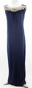 Blue Maxi Dress by Alberta Ferretti A0464 Maxi Womens