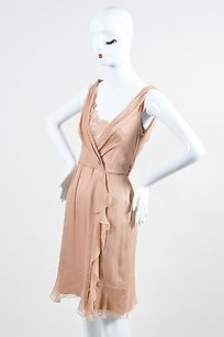 Alberta Ferretti Blush Dress
