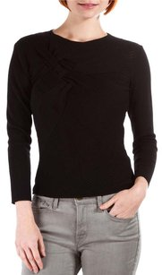 Alberta Ferretti Blouse Ribbed Sweater