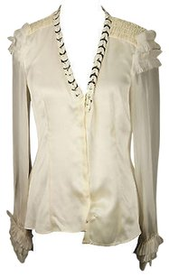 Alberta Ferretti Good Womens Top off-white