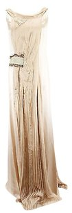 Alberta Ferretti short dress beige Good Womens on Tradesy