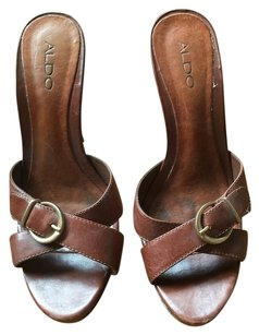 Aldo Shoes Brown Sandals
