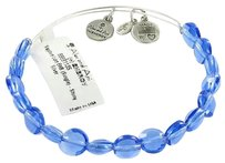 Alex and Ani Alex And Ani Sapphire Luxe Blue Beads Expandable Ewb Bracelet Silver