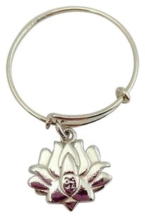 Alex and Ani Alex And Ani Providence Collection Expandable Lotus Flower Ring 925silver