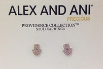 Alex and Ani Alex And Ani Providence Collection Hand Of Fatima Stud Earrings 925 Silver