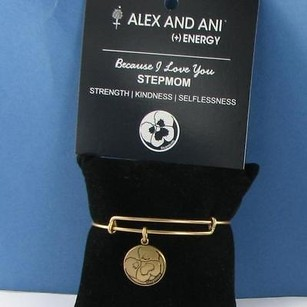 Alex and Ani Alex Ani Because I Love You Stepmom Expandable Ewb Bracelet Russian Gold