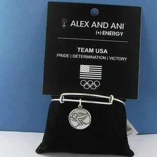 Alex and Ani Alex Ani Team Usa Skiing Charm Expandable Ewb Bracelet Russian Silver