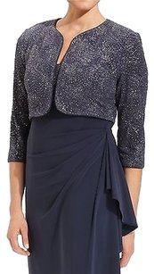 Alex Evenings Bolero Shrug Grays Jacket