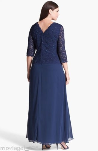 Plus Size Formal Dress with Long Jacket