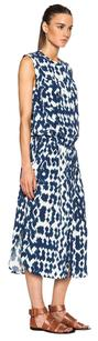 Blue / White Maxi Dress by Vince