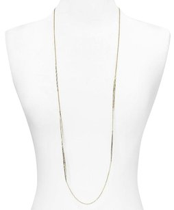 Alexis Bittar ALEXIS BITTAR CRYSTAL ENCRUSTED GOLD SPEAR STATION LONG NECKLACE