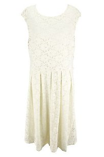 Alfani short dress off-white Good Floral Womens on Tradesy