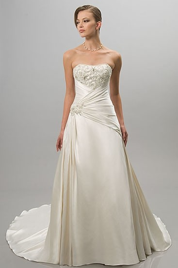 Great Alfred Sung Ivory Satin 6802 Traditional Wedding Dress Size 14 (L). 12 Good Ideas